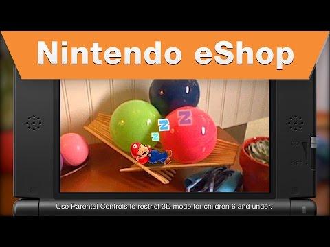 Nintendo eShop - Photos With Mario Trailer
