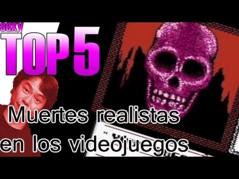 Muertes realistas en videojuegos | Sexy TOP 5