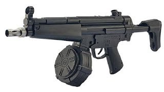 JM MP5 V2 Submachine Gun Gel Blaster Review - Renegade Blasters - Next Gen Toy Guns
