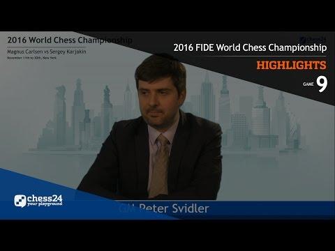 2016 FIDE World Chess Championship - Highlights - Game 9
