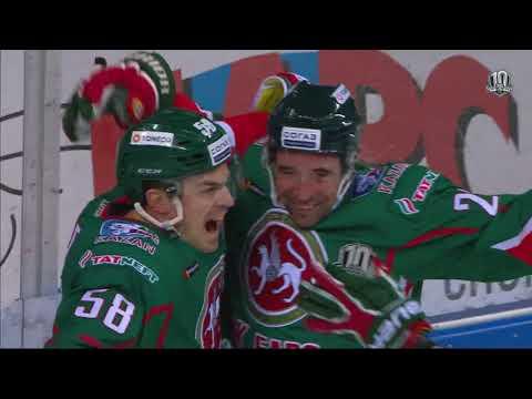 HC Dynamo M 2 Ak Bars 6, 11 December 2017 Highlights