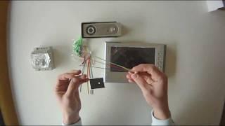 Genway doorphone 4-wire system