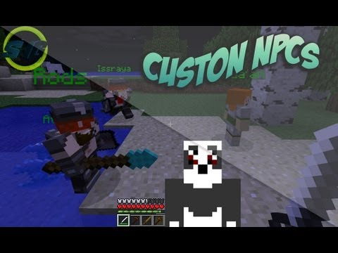 Minecraft 1.5.2 ~ Como instalar Custom NPCs Mod