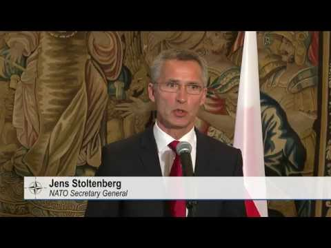 NATO Secretary General - Joint Press Point in Warsaw, Poland, 06 OCT 2014