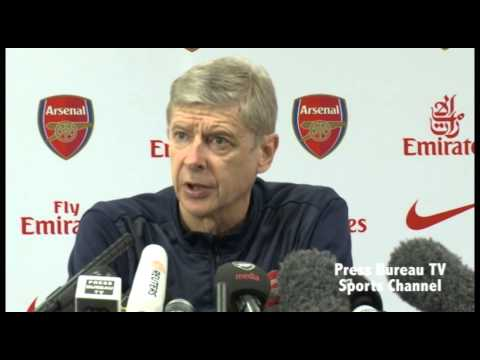 Arsene Wenger pre Hull vs Arsenal