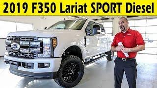 2019 Ford F350 Lariat Sport Package Diesel  - Exterior & Interior Walkaround