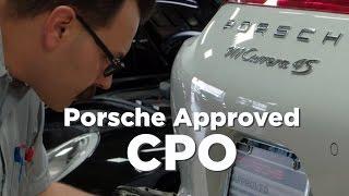 Porsche Pasadena Approved CPO Program