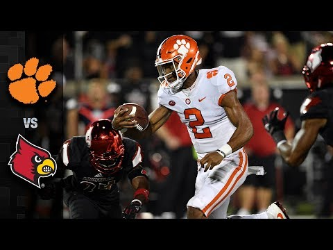 Clemson vs. Louisville Football Highlights (2017)