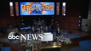 Rev. Al Sharpton delivers eulogy at George Floyd's memorial