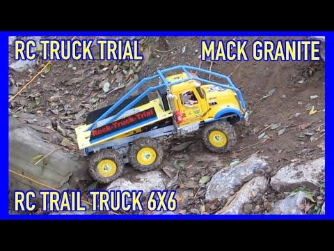 RC Mack Granite Modell Truck Trial mit Soundmodul 6x6x2