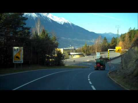 Road to Innsbruck : Over the Alps part three