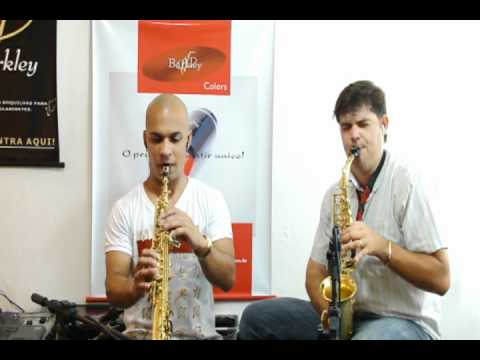 FAZ UM MILAGRE EM MIM - MARQUINHO SAX E LEANDRO MORABITO - BARKLEY MOUTHPIECE