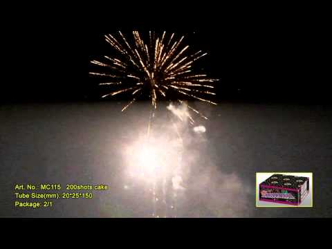 Салют на 200 выстрелов - Countdown finale MC115 от ТМ Maxsem
