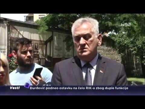 Nema smena ni ostavki, ali se oglasio Tomislav Nikolić