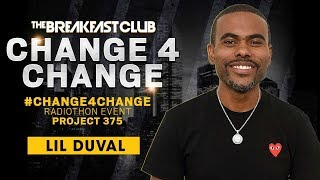 Lil Duval Calls In To Donate S1 During Change4change
