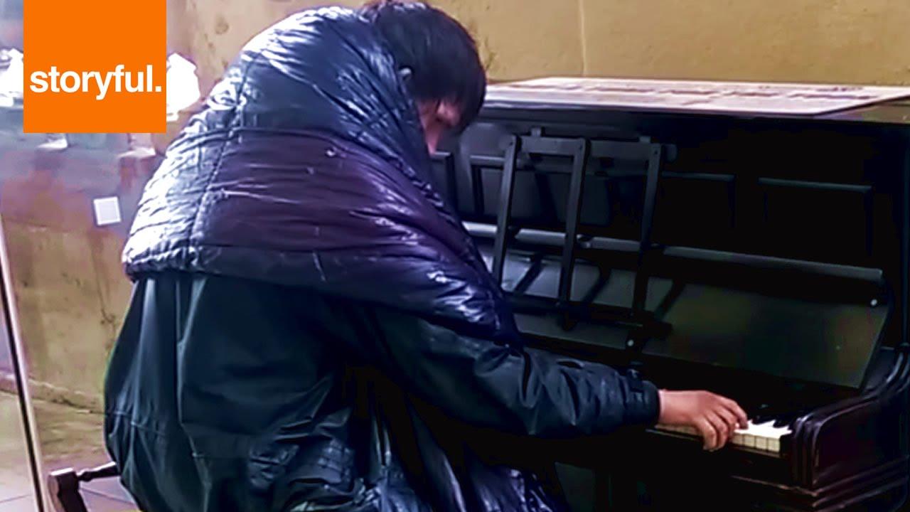 Newcastle Homeless Man Homeless Man Plays Beethoven