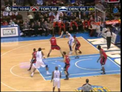 Nuggets vs Raptors 111709 Video