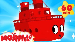My Red Boat + 1 hour kids compilation incl: Bulldozer, Firetruck, Digger,  My Magic Pet Morphle