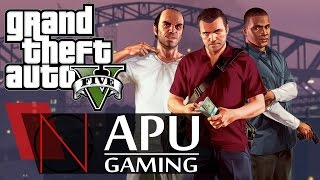 Grand Theft Auto V On AMD A8-6600K APU with HD 8570D