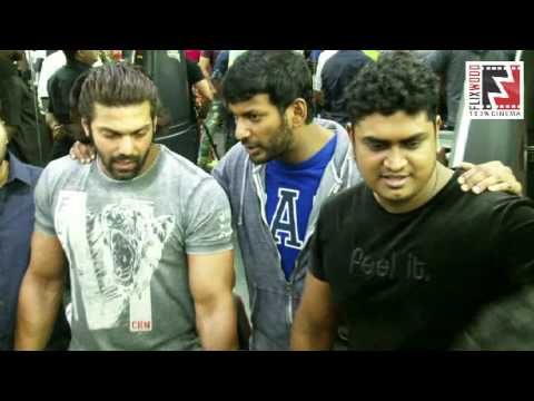 Monsters Alpha Fitness Studio Launched By Arya |  Vishal | Santhanam | Flixwood
