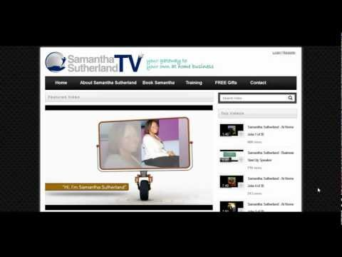 Samantha Sutherland TV (Work From Home Jobs & Businesses)