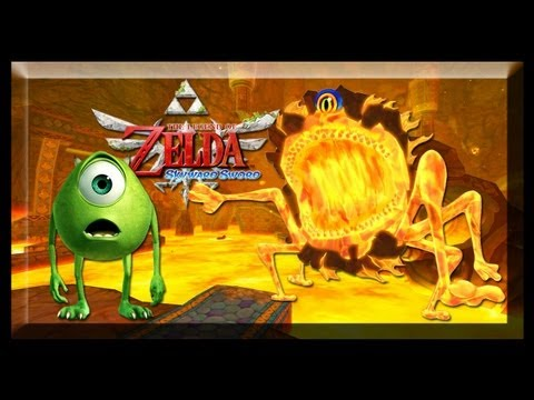 The Legend of Zelda Skyward Sword Boss Temple of Earth: Scaldera