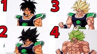 FINALLY! All Of Broly's Forms!