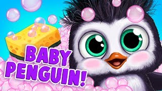 Baby Penguin Care: Hatch & Hairstyles! Baby Animal Hair Salon 3 | TutoTOONS Cartoons & Kids Games