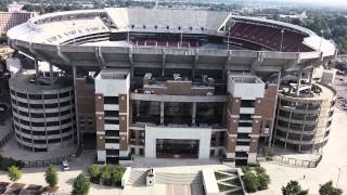 Bryant Denny Stadium - Crimson Tide - Drone Video