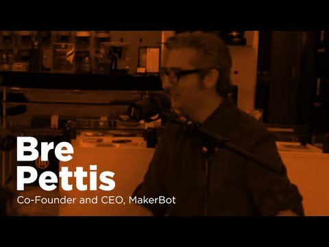 - Startups - Bre Pettis, Co-Founder and CEO, MakerBot-TWiST #317