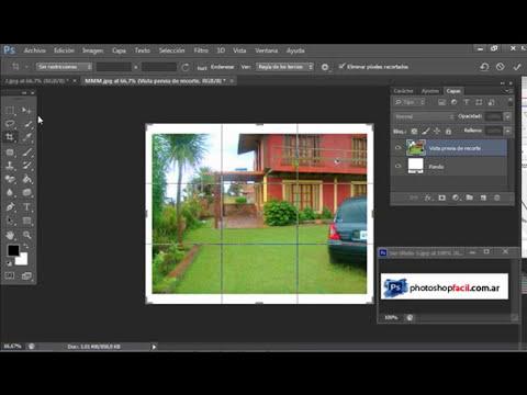 Tutorial Photoshop Mejorar fotografia imperdible!Herramienta esponja y lienzo...