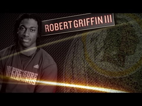 Robert Griffin III Interview - Redskins Rookie QB