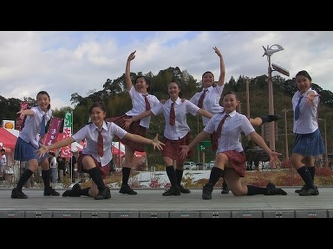 Wing Theater 2012 Japanese School Girls Dance 新東名静岡サービスエリア video