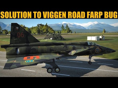 Solution To Viggen Multiplayer Road Farp Bug! | DCS WORLD