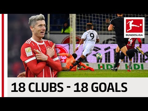 18 Clubs, 18 Goals - The Best Goal By Every Bundesliga Team in 2017/18 so far thumbnail