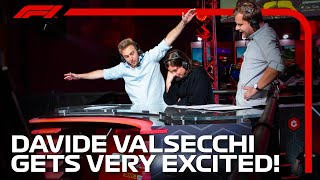 Davide Valsecchi Being Excited For 4 Minutes Straight