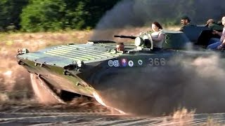 Armored Fighting Vehicle - offroad ride - BVP 1