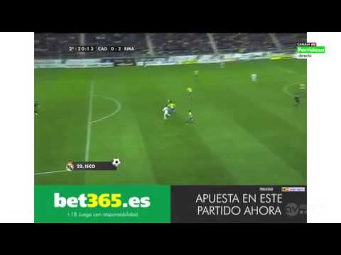 Кадис 1:3 Реал Мадрид
