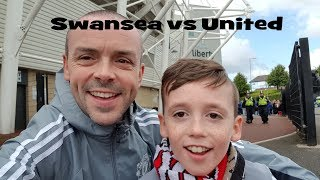 Swansea v Man United Vlog 19 Aug 17