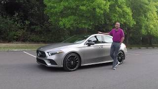 2019 Mercedes A-Klasse Limousine A-Class Sedan: First Test Drive Video Review