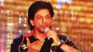 Shahrukh Khan SHOUTS at Reporter at Happy New Year Trailer Launch