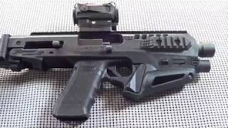 CAA Micro-Roni Stab for the Glock 17, Unboxing