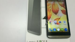 Micromax Canvas Juice 2 Unboxing and Hands On
