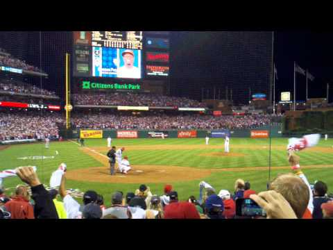 Roy Halladay Playoff No-Hitter (Final Out)