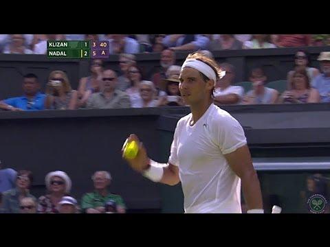Highlights Day 2: Nadal passes Klizan test - Wimbledon 2014