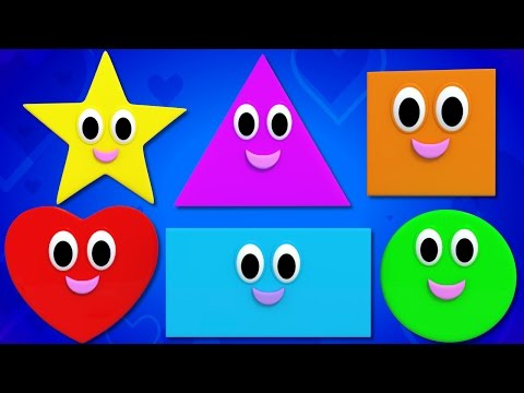 shapes song | shapes rhymes | we are shapes | shape song | shape songs for kids | Kids TV