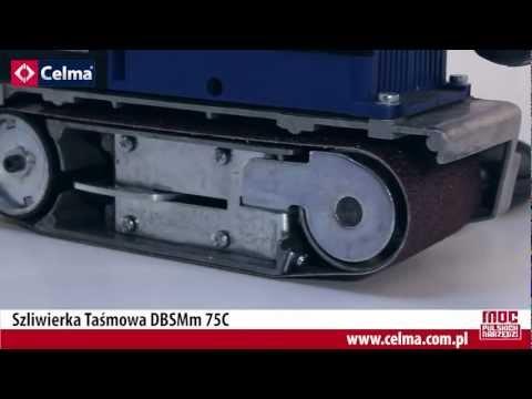 Szlifierka taśmowa Celma DBSSm 75C
