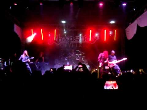 Rhapsody of Fire - Vis Divina, Rising From Tragic Flames, Land of Immortals - Obregon, Sonora.