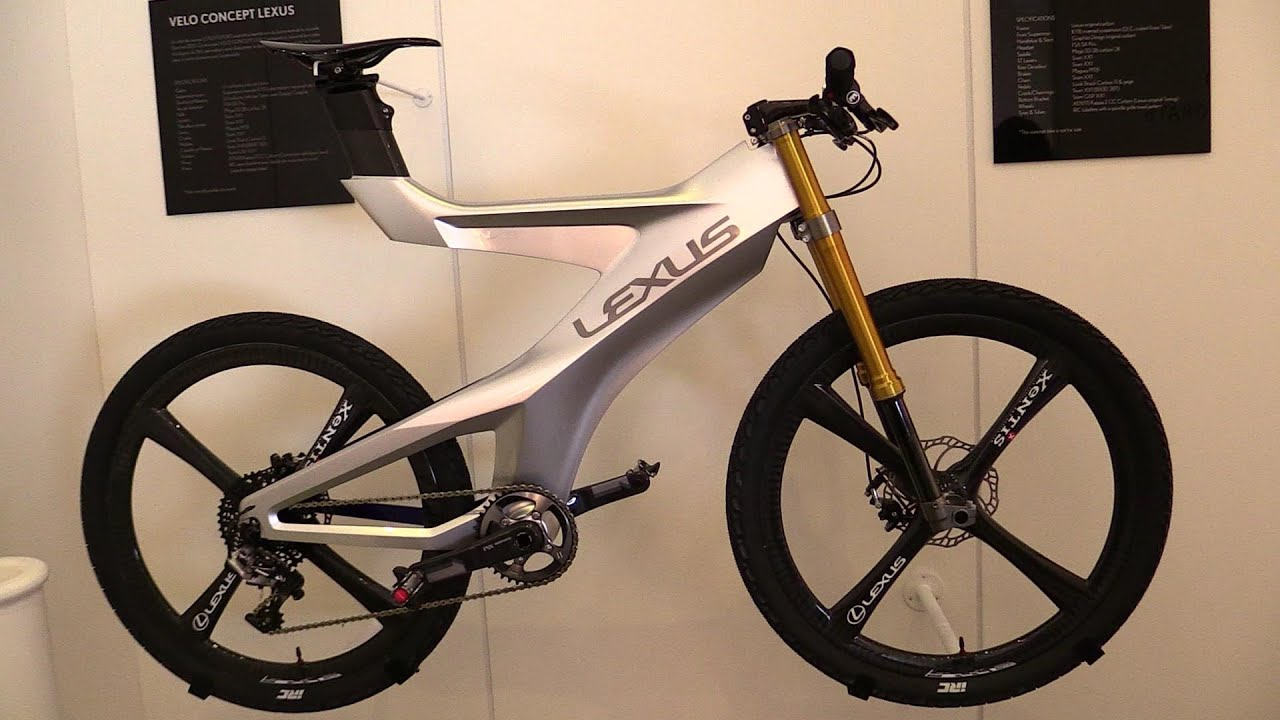 2015 Lexus Velo Concept Bicycle Walkaround 2014 Paris