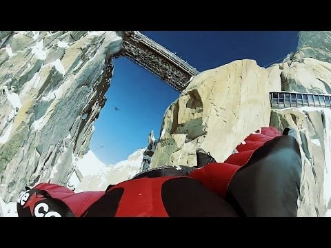 First Ever Wingsuit Flight UNDER Aiguille du Midi Bridge | The Perfect Flight, Ep. 2 klip izle